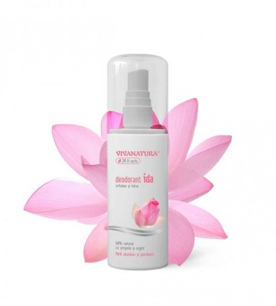 Deodorant Spray IDA - cu Orhidee si Lotus, 100 ml 0