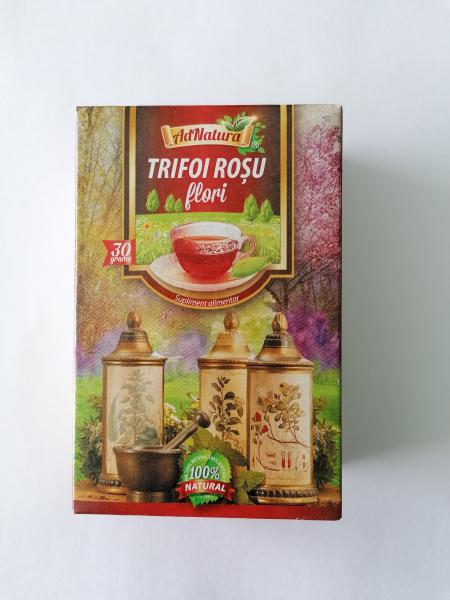 Ceai de trifoi rosu flori, 30g [0]
