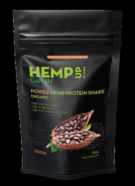 Shake proteic de canepa si cacao, 300g 0