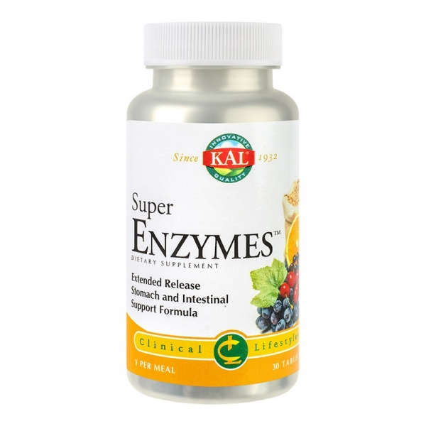 Super Enzymes, 30tablete 0