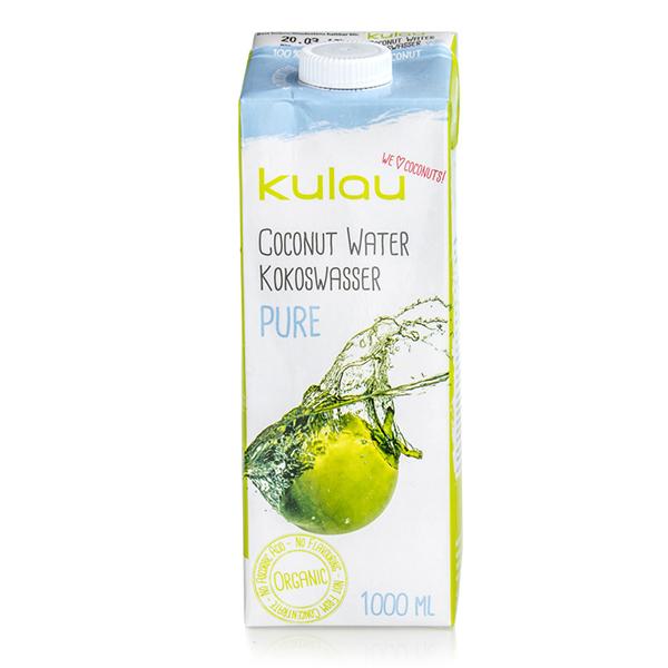 Apa de cocos pura Kulau, 1L 0