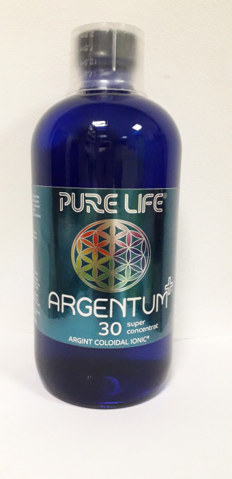 Argint coloidal ionic 30ppm 480ml Pure Life 0