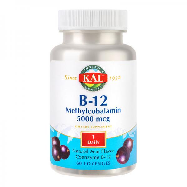 B12 Methylcobalamin, 60cpr pentru supt [0]