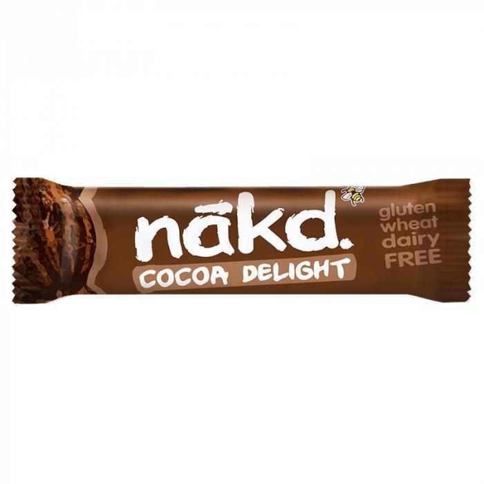 Baton Raw Vegan cu Cacao, 35g [0]