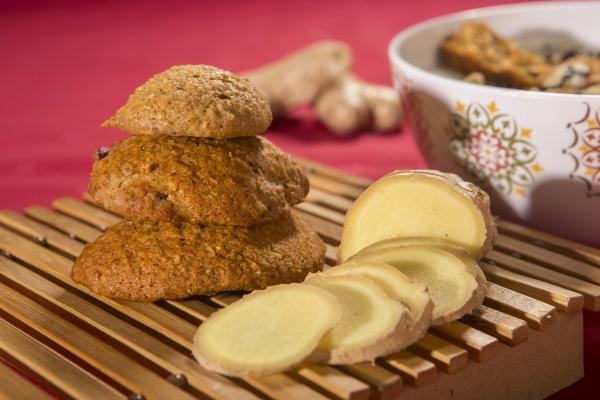 Biscuiti cu ghimbir si cocos, 150G 1
