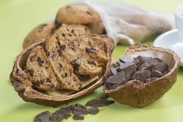 Biscuiti cu ciocolata naturala, 150G 2