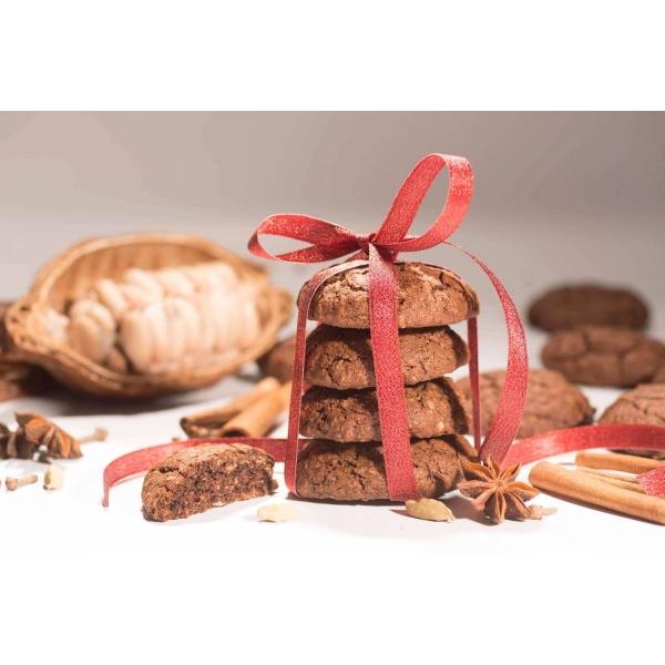 Biscuiti vegani cu cacao si mirodenii, 150g 1