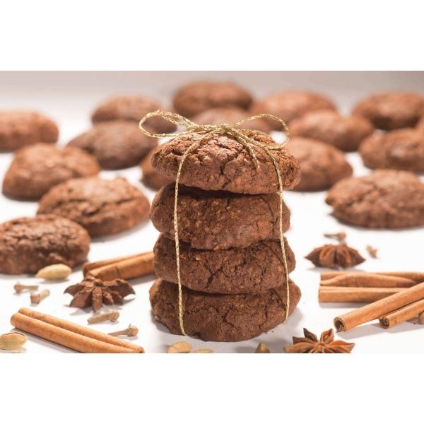 Biscuiti vegani cu cacao si mirodenii, 150g 2