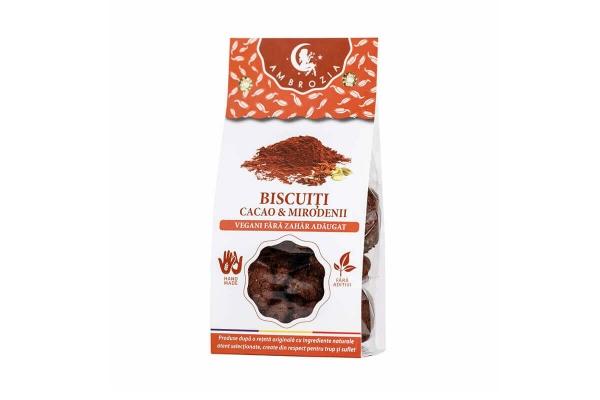 Biscuiti vegani cu cacao si mirodenii, 150g 0