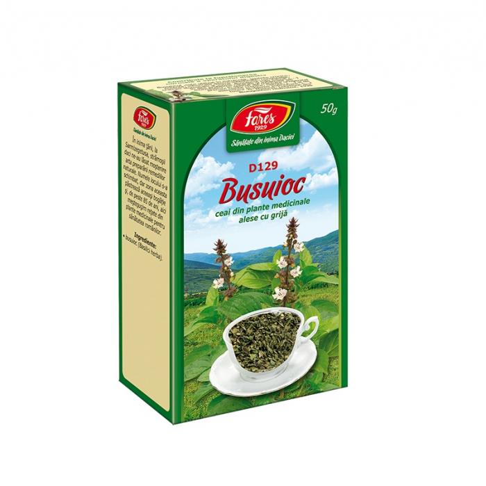 Busuioc Ceai, 50g [0]