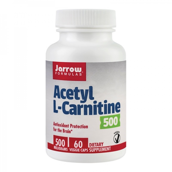 Acetyl L-Carnitine 500mg, 60cps 0