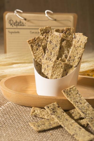 Crackers cu susan si condimente, 125G 3