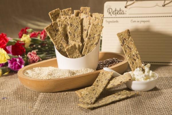 Crackers cu susan si condimente, 125G 4