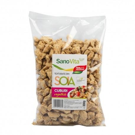 Cuburi vegetale din soia, 300g [0]