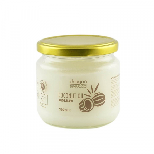 Ulei de cocos bio raw 300ml 0