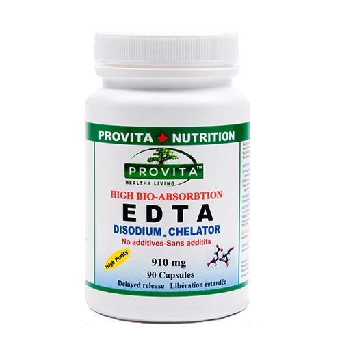 EDTA chelat disodic biodisponibil 910mg, 90cps 0