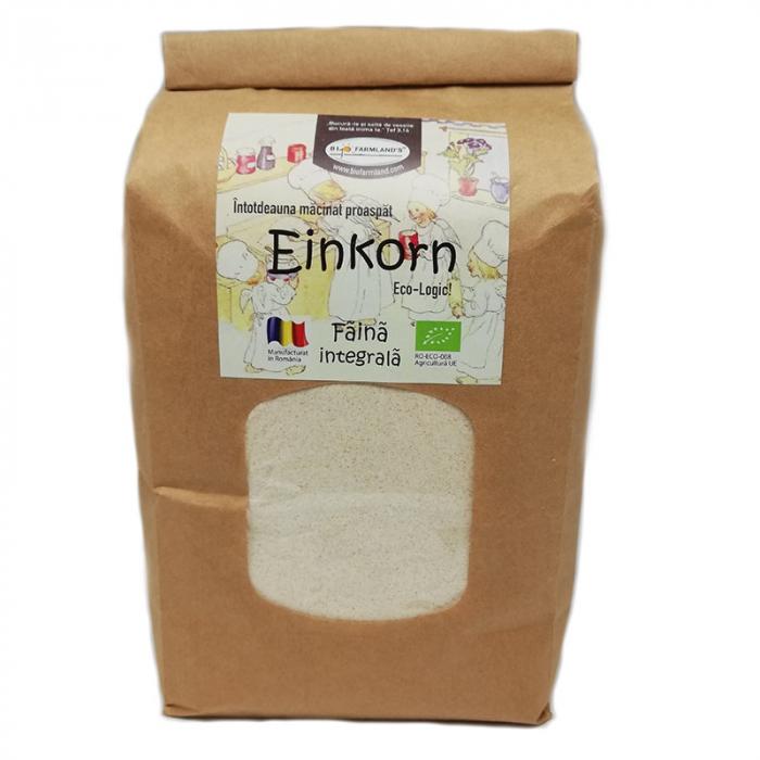 Faina integrala Einkorn Eco, 1kg 0