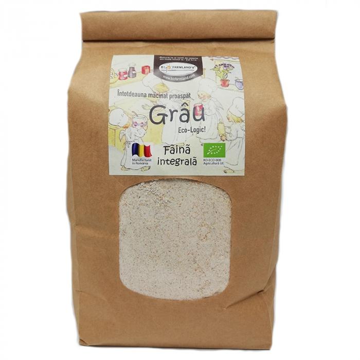 Faina integrala de Grau Eco, 1kg [0]