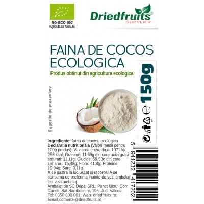 Faina cocos BIO, 150g 1