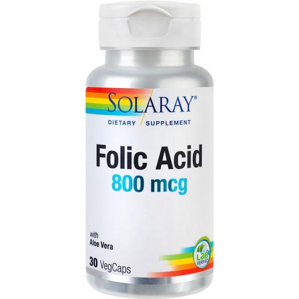 Folic Acid 800mcg, 30cps 0