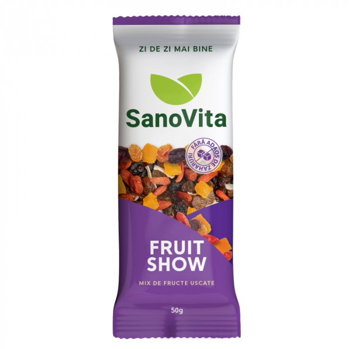 Fruit Show - fructe uscate fara zahar, 50g [0]