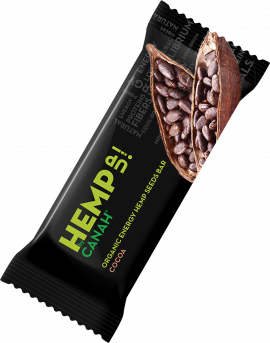Baton canepa cu cacao, 48g 0