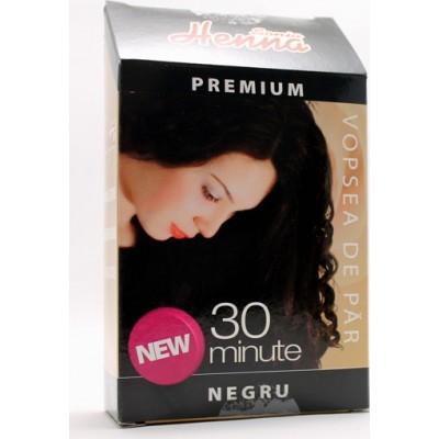 Henna Sonia Premium 30 minute negru 60g [0]