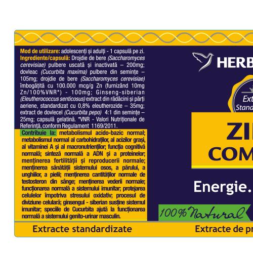 Zinc complex 60cps 1