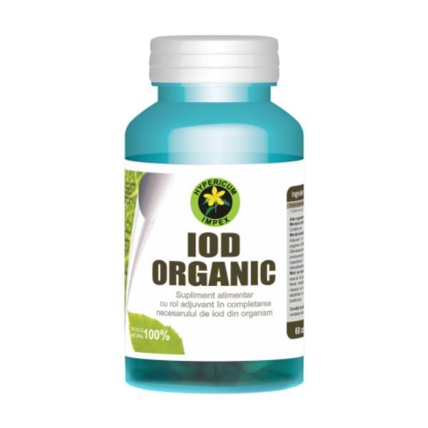 Iod organic, 60 cps 0