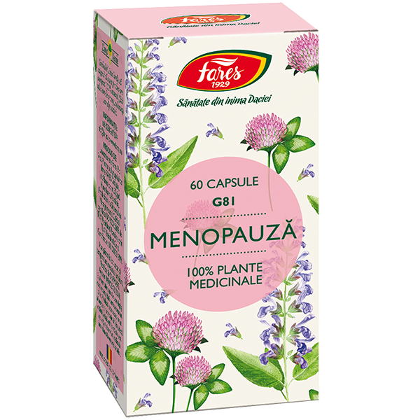 Menopauza, G81, 60capsule [0]
