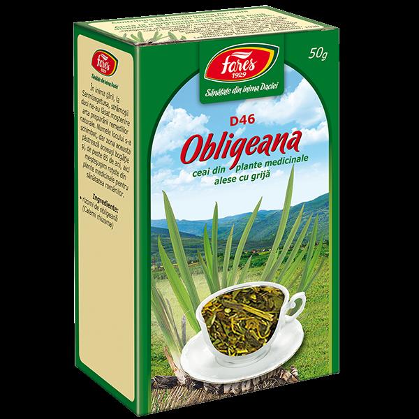 Obligeana ceai, 50g 0