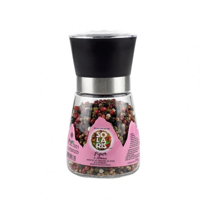 Rasnita reutilizabita cu piper 5 arome, 70g [0]