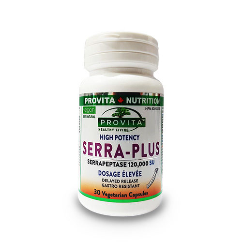 Serra Plus - Serrapeptase, 60cps [0]