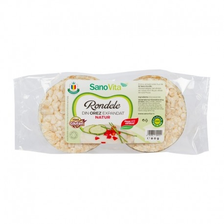 Rondele simple orez, 80g 0