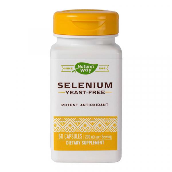 Selenium 200mcg 60cps 1