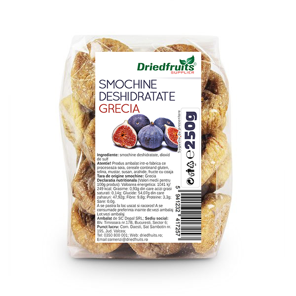 Smochine deshidratate, 250g 0