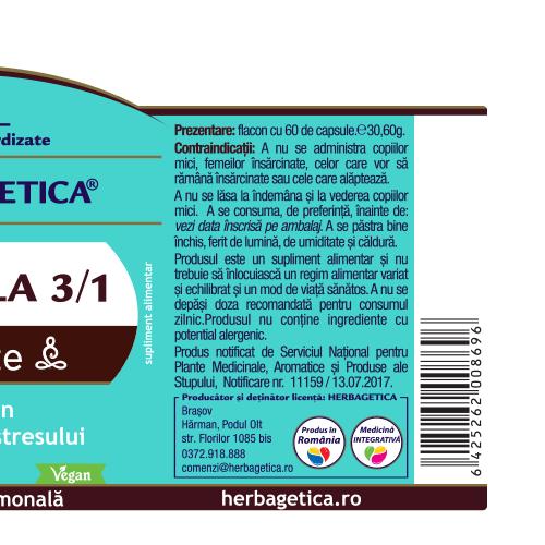 Rhodiola, 60cps 2