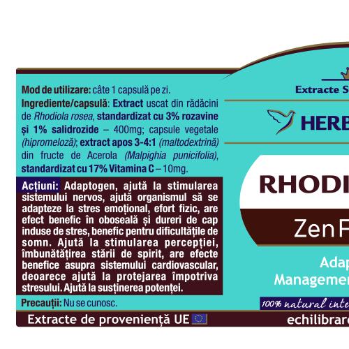 Rhodiola, 60cps 1