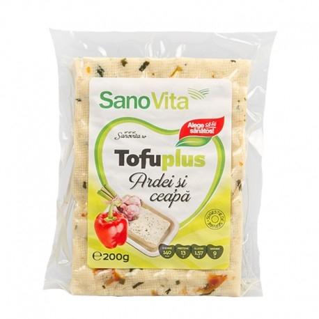 Tofu cu ardei si ceapa, 200g 0