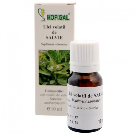 Ulei volatil de salvie 10ml 0