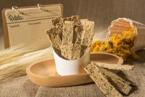 Crackers cu seminte de canepa, in si chia, 125g1