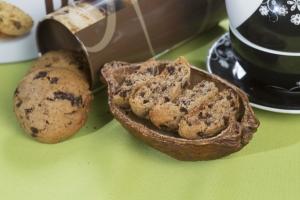 Biscuiti cu ciocolata naturala, 150G1