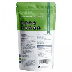 Chlorella pulbere bio, 125g1