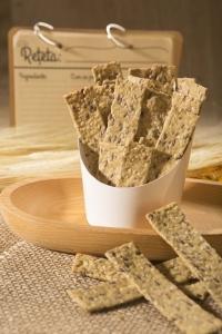 Crackers cu susan si condimente, 125G3
