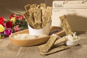 Crackers cu susan si condimente, 125G4
