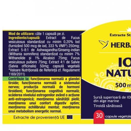 Iod Natural, 30cps [1]
