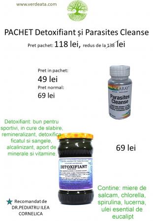 Pachet Parasites Cleanse + Detoxifiant [1]