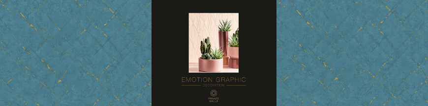 Tapet Emotion Graphic, modern, geometric, super-lavabil