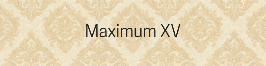 Tapet Maximum 15