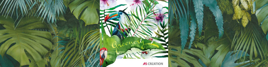 Tapet colectia Greenery by AS Creation